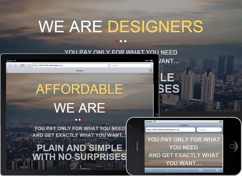 Affordable Web Designers